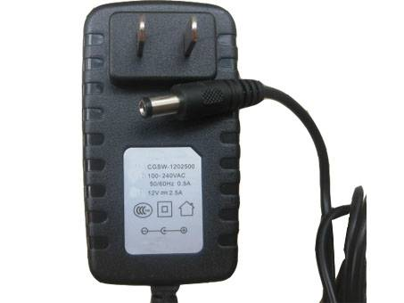 5.5mm x 2.5mm DC 12V 2.5A(30W) DC Charger Power Ac adapter EU cord