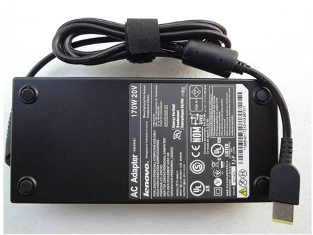 Lenovo 20V 8.5A 170W Square AC Adapter For ThinkPad W540 T540P L540 L440 45N0374