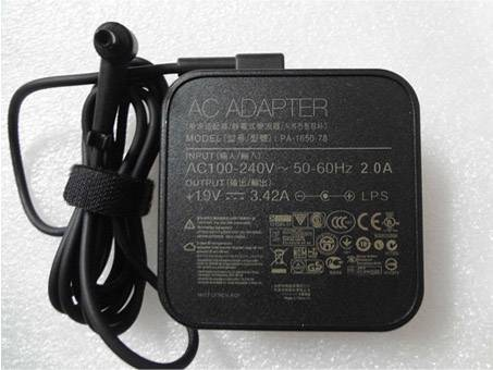 65W AC Adapter Power Charger for Asus PA-1650  -78 ADP-65GD B 19V 3.42A