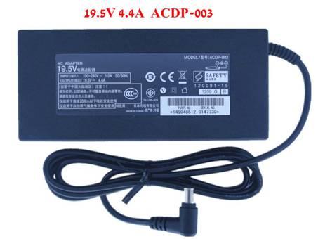 ACDP-003 85W 19.5V 4.4A AC Adaptador para Sony LCD TV