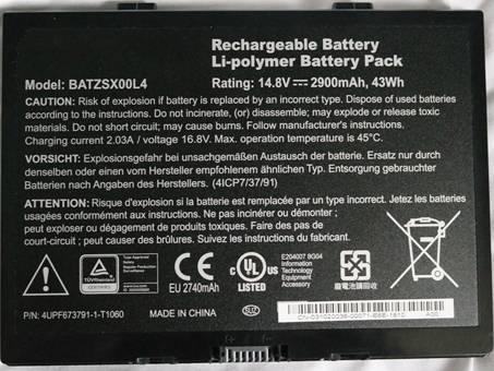 Batería para MOTION BATZSX00L4