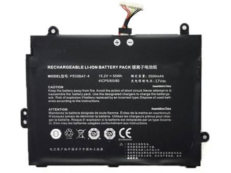 Batería para CLEVO P950BAT-4