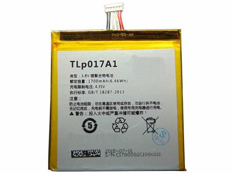 Batería para ALCATEL TLP017A1