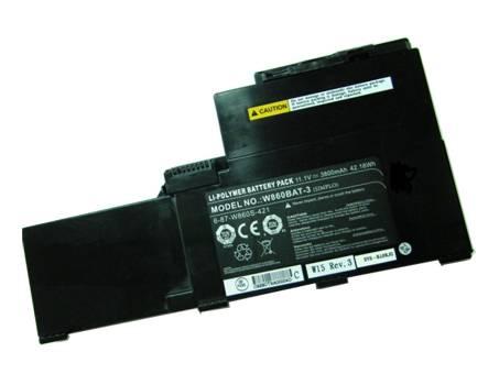 W860BAT-3 Baterias para portatiles CLEVO W86 Series - 3800mAh/42.18WH