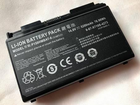 Batería para CLEVO P150HMBAT-8